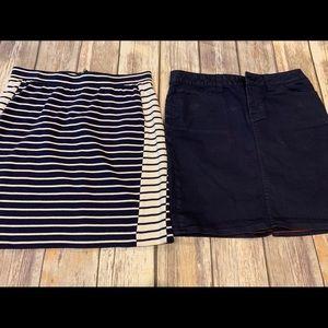 2 Tommy Hilfiger Skirts Size 2/XS